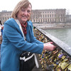 "On a recent trip to Paris, France, Roberta Hite fastened a ""love padlock"" on a bridge for her 43-year marriage to Larry Hite.<br /> <br /> Photographer's Name: Roberta Hite<br /> Photographer's City and State: Kokomo, IN"