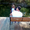 Grandpa Dave and grandson, Blake Sears sitting on the fishing dock together at the lake.<br /> <br /> Photographer's Name: Maggie Nelson<br /> Photographer's City and State: kokomo, IN