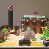 The team at Jarrell Dentistry, the office of Dr. Melissa A. Jarrell, worked together on this gingerbread creation of downtown Kokomo and some of Kokomo's attractions, including some of the old favorites like the gas tower and Old Ben and the newest landmark, the Kokomantis.<br /> <br /> Submitted by Pam Walker.