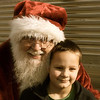Nathan Rush met Santa at the Polar Bear Express train ride at the Indiana Transportation Museum.<br /> <br /> Submitted by Danielle Rush.