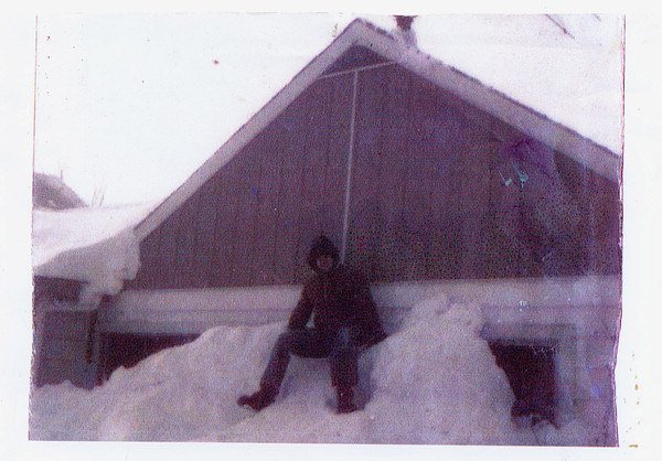 BLIZZARD: Nancy Monticue was nice enough to stop by our office Friday and share this photo of the 1978 blizzard with us. She said the 35-year-old photo shows John Monticue, Bennetts Switch, sitting atop their house and enjoying the giant snow drifts. Nancy told us he was in his second year at Maconaquah High School when this photo was taken.<br /> <br /> Submitted by Nancy Monticue.