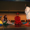 "Flounder, Sebastian and Scuttle find Ariel has grown legs. in the upcoming production of Tipton Community Theatre's production of""The Little Mermaid Jr"" <br /> <br /> Photographer's Name:  <br /> Photographers City and Country: ,"
