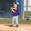 Kyler Gray 3 years old, always watches the ball during his T-Ball games<br /> <br /> Photographer's Name: Christy Griggs<br /> Photographer's City and State: Kokomo, IN