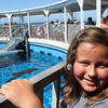 Erin enjoying the dolphin show!<br /> <br /> Photographer's Name: Cyndi Bagley<br /> Photographer's City and State: kokomo, IN