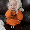 Submitted | Chris Andrews<br /> <br /> FASHION: Dylan Allen, 23 months, tries on his new winter hat.