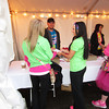 Jaina Hattabaugh and Chelsy Huffer from the Ribbon Warriors at IUK donating a check at Race for the Cure in Indianapolis.<br /> <br /> Photographer's Name: Jaina Hattabaugh<br /> Photographer's City and State: kokomo, IN