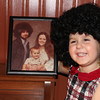 Peyton Miles with a pic of Ma, Pa, and Uncle Ryan from back in the 70's<br /> <br /> Photographer's Name: Anita Miles<br /> Photographer's City and State: Kokomo, IN