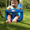 7 month old Landon Cottingham enjoying the nice weather.<br /> <br /> Photographer's Name: Kelley Cottingham<br /> Photographer's City and State: Kokomo, IN