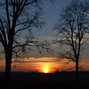 Sunset from Nickel Plate Trail <br /> <br /> Photographer's Name: William Siktberg<br /> Photographer's City and State: Kokomo , IN