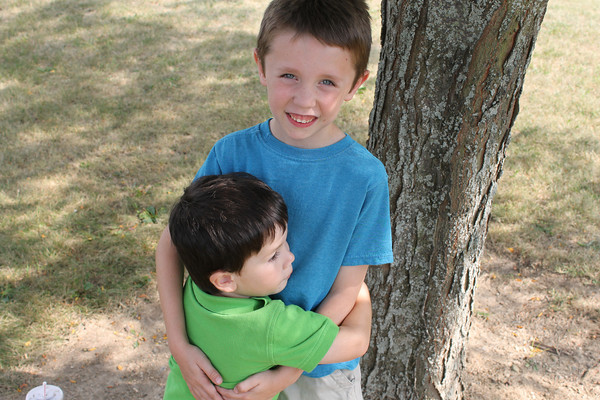 brothers!  Aidan & Damian<br /> <br /> Photographer's Name: Kellie Ooley<br /> Photographer's City and State: kokomo, IN