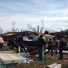 THS students helping with clean up <br /> <br /> Photographer's Name: Virginia Jarrett<br /> Photographer's City and State: Tipton, IN