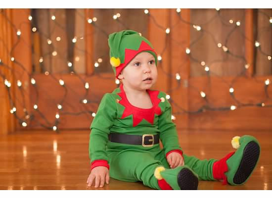 Beckett Zimmermann From West Chester, Ohio Grandson Of Beth Fitzgerald Kokomo..Santa's Little Helper<br /> <br /> Photographer's Name: Beth Fitzgerald<br /> Photographer's City and State: Kokomo, IN