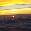 sunset over Dallas at 30,000 ft.<br /> <br /> Photographer's Name: loni tressel<br /> Photographer's City and State: kokomo, IN