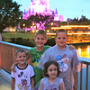 Cousins Ben Williams, 7, Jake Williams, 12, Claire Rush, 4, and Nathan Rush, 8, enjoyed a trip to Walt Disney World. Photo submitted by Danielle