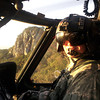 2003 Northwestern grad Kyle Hartman, shown here piloting his Army Blackhawk helicopter on a mission in South Korea.<br /> <br /> Photographer's Name: Dave Leonard<br /> Photographer's City and State: Kokomo, IN