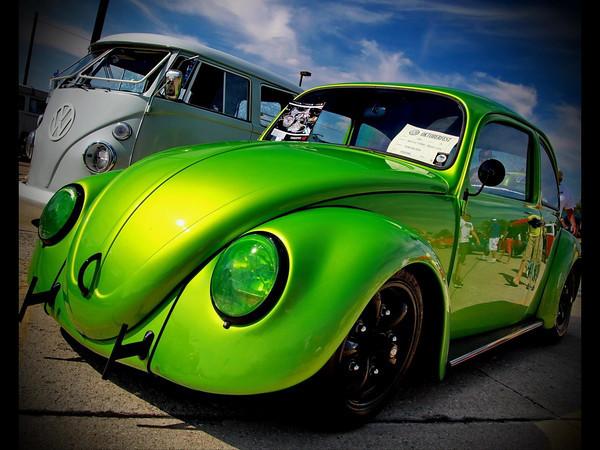 Oktoberfest 2013 , Evan Wilson of Kokomo's VW Beetle Juice<br /> <br /> Photographer's Name: Sandy McNew<br /> Photographer's City and State: Kokomo, IN