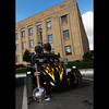 Kokomo's own Bill Chapel's RatRod and guitar at Oktoberfest.<br /> Submitted by Garry and Sandy McNew.