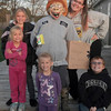 The McGuire kids, Rane', Remington, Rhiannon, Regan and Rebekah, make a scarecrow for Halloween.<br /> <br /> Submitted by Belva Likens.
