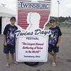 Kyle and Connor Smith attended the 2012 Twins Days Festival in Twinsburg OH. This is their 10 year to attend the festival.<br /> <br /> Photographer's Name: Beverly Smith<br /> Photographer's City and State: Kokomo, IN