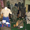 Uniform display honoring veterans who provided our freedom at First Church of the Nazarene Voices of Freedom Patriotic Program.<br /> <br /> Photographer's Name: Jan Myers<br /> Photographer's City and State: Greentown, IN