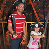 Nathan Rush, 10, and Claire Rush, 6, were made up to look like pirates at the Pirates Voyage during their fall break trip to Myrtle Beach.<br /> <br /> Photographer's Name: Danielle Rush<br /> Photographer's City and State: Greentown, IN
