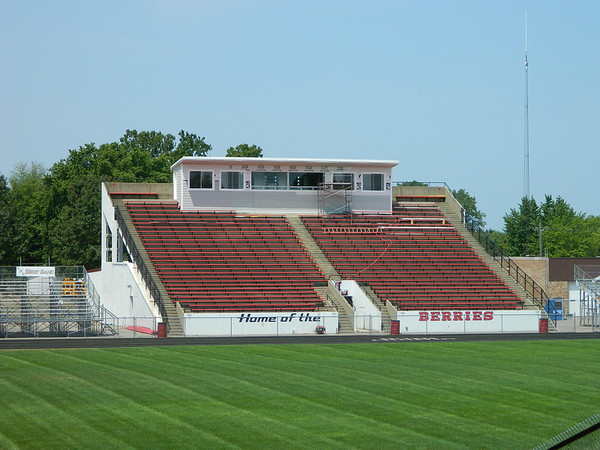 New press box at LHS football field.Sorry it still does not have any heat or air.<br /> <br /> Photographer's Name: Robert Zimmerman<br /> Photographer's City and State: Logansport, IN