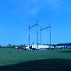 "Carson & Barnes Circus. Putting up the ""Big Top"" tent<br /> <br /> Photographer's Name: Rbert Zimmerman<br /> Photographer's City and State: Logansport, IN"