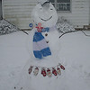 Welcoming Snowman<br /> <br /> Photographer's Name: George and Kathy Courtad<br /> Photographer's City and State: Logansport, IN