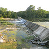 Ten Street Dan very dry. Water only flowing over half of the dam<br /> <br /> Photographer's Name: Robert zimmerman<br /> Photographer's City and State: Logansport, IN