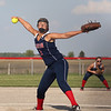 Tori Rentschler Pitching for Caston 2014<br /> <br /> Photographer's Name: Lisa Rentshcler<br /> Photographer's City and State: Fulton, IN