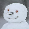 One happy snowman..<br /> <br /> Photographer's Name: Cindy Rozzi<br /> Photographer's City and State: Logansport, IN