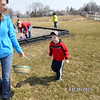 Becca and Reese Tocco tracking down some Easter eggs<br /> <br /> Photographer's Name: KE Tocco<br /> Photographer's City and State: Walton, IN