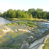 Eel River. 10 Street Dam. Most of dam has no water going over the top.<br /> <br /> Photographer's Name: Robert Zimmerman<br /> Photographer's City and State: Logansport, IN