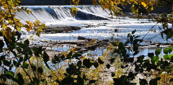View of the dam on the River Bluff Trail, Logansport, Indiana<br /> <br /> Photographer's Name: Diane Murphy<br /> Photographer's City and State: Logansport, IN