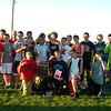 XC Cpimtu Meet Boys' Team Champs, Logansport - Having Fun!<br /> <br /> Photographer's Name: Pam Graf<br /> Photographer's City and State: Logansport, IN