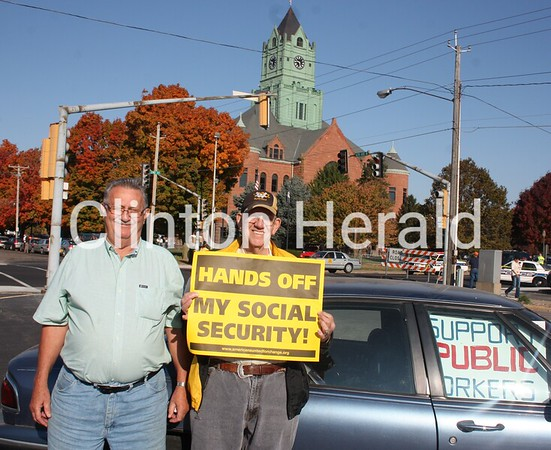 Republican V.P. Nominee Paul Ryan's Campaign Town Hall Meeting - Clinton County Courthouse Front Lawn 9am-11am - 10.02.12<br /> <br /> Photographer's Name: Jason Heinitz<br /> Photographer's City and State: Clinton, IA
