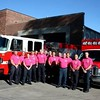 Clinton Firefighters Wear Pink<br /> <br /> Photographer's Name: Jason Heinitz<br /> Photographer's City and State: Camanche, IA