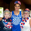 Trey Voda and family show their American pride at The Knox Family Reunion July 4th.<br /> <br /> Photographer's Name: Mindy Dunlap<br /> Photographer's City and State: Clinton, IA