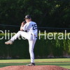 Jake Simpson on the bump enroute to a complete game victory over Ft Dodge.<br /> <br /> Photographer's Name: Jeff Chapman<br /> Photographer's City and State: Clinton, IA