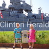 Ethan and Allison Kessler at the USS Alabama Battleship in Mobile, Alabama. <br /> <br /> Photographer's Name: Ryan Kessler<br /> Photographer's City and State: Mt. Carroll, IL
