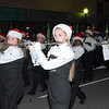 Flutes and woodwinds add to the music as the 50th Regiment marches in the Moultrie Christmas Parade Thursday, Dec. 12, 2013.<br /> <br /> Photographer's Name: Kevin Hall<br /> Photographer's City and State: Moultrie, GA