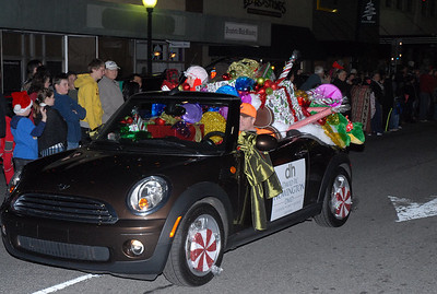 Many South Georgia businesses participated in the Moultrie Christmas Parade, including David Howington, D.M.D.  Photographer's Name: Kevin Hall Photographer's City and State: Moultrie, GA