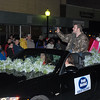 Marcus Holloway — the Moultrie man who won Tifton Idol and auditioned for American Idol — served as grand marshal of Moultrie's Christmas parade Thursday, Dec. 12, 2013.<br /> <br /> Photographer's Name: Kevin Hall<br /> Photographer's City and State: Moultrie, GA
