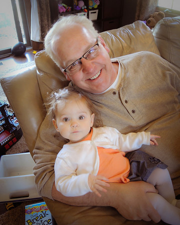 My husband Terry Ayers with our granddaughter, Aislynn.<br /> <br /> Photographer's Name: Terry Lynn Ayers<br /> Photographer's City and State: Anderson, IN