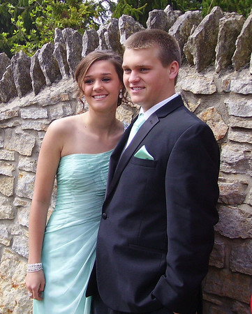 Sam Driffill and Payton Dillinger, taken before the Frankton high school senior prom.<br /> <br /> Photographer's Name: Don Driffill<br /> Photographer's City and State: Anderson, Ind.