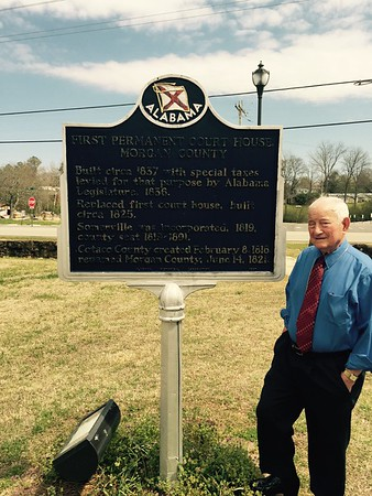 Sidney Johnson of Anderson visited Mirgan County in Somerville, Ala. <br /> <br /> Photographer's Name: Dan Johnson <br /> Photographer's City and State: Macon, Ga.