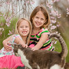 Granddaughters Evelyn and Kambria Fox playing with our cat Jag.<br /> <br /> Photographer's Name: Terry Lynn Ayers<br /> Photographer's City and State: Anderson, Ind.
