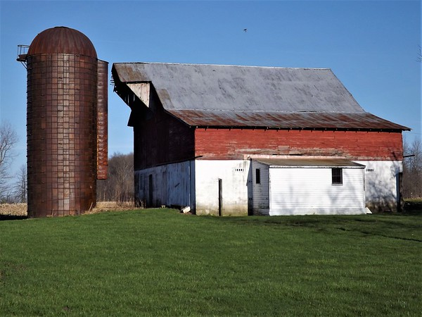 Madison County barns. <br /> <br /> Photographer's Name: J.R. Rosencrans<br /> Photographer's City and State: Alexandria, Ind.