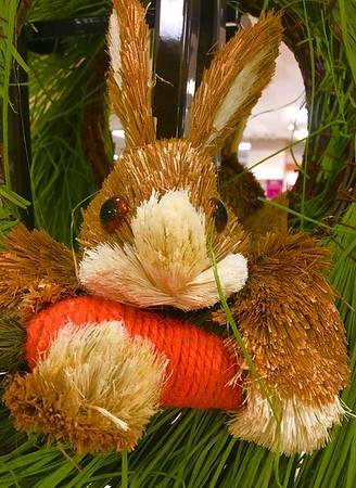 Sign of the season...Happy Easter Bunny at my house.<br /> <br /> Photographer's Name: J.R. Rosencrans<br /> Photographer's City and State: Alexandria, Ind.