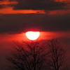 A mid-April sunset.<br /> <br /> Photographer's Name: Harry Van Noy<br /> Photographer's City and State: Lafayette Township, Ind.